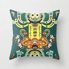 The Gate-Totem Throw Pillow