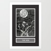 Shadow Season: The Web Art Print