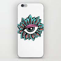 Eye Petals iPhone & iPod Skin
