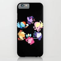iPhone & iPod Case featuring Mane Six by Barbara
