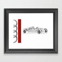 RennSport Speed Series: … Framed Art Print