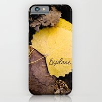 iPhone & iPod Case featuring Explore by Nicole Rae