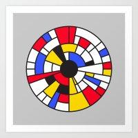 Roundrian Art Print