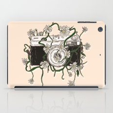 Vintage Camera Blooms iPad Case