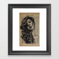 Pride & Prejudice, Page … Framed Art Print