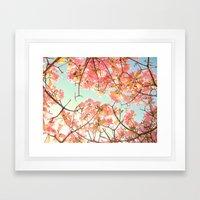 Spring Splendor Framed Art Print