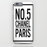 No. 5. Chanell iPhone 6 Slim Case