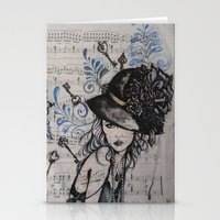 Chanson Russe Stationery Cards
