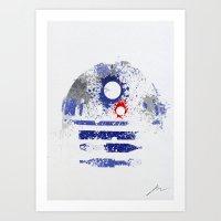 Astromech Deetoo Art Print