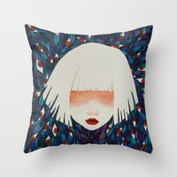 M#1 Throw Pillow