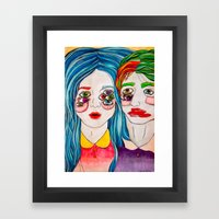 You're A Monster Too Framed Art Print