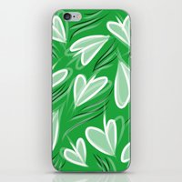 Springing Hearts iPhone & iPod Skin