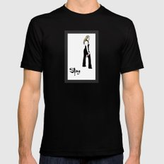 Buffy, The Vampire Slayer Mens Fitted Tee Black SMALL