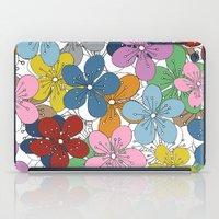 Cherry Blossom Colour - … iPad Case