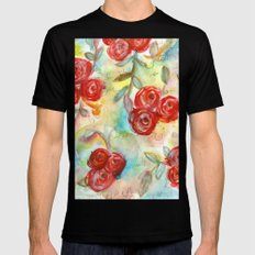 Lonely Heart Mens Fitted Tee Black SMALL