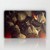 Earth Elemental battle Laptop & iPad Skin