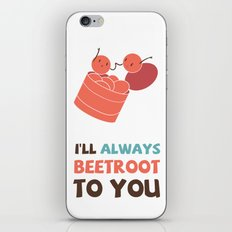 I'll Always Beetroot (Valentines Day) iPhone & iPod Skin