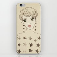 Star Girl iPhone & iPod Skin