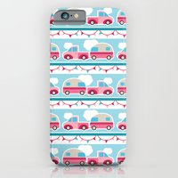 iPhone & iPod Case featuring Glamping stripes by shellimakes
