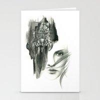 Zodiac - scorpio Stationery Cards