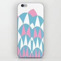 Modern Day Arches Pink iPhone & iPod Skin