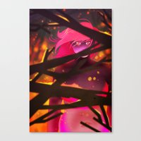 cleansing fire Canvas Print