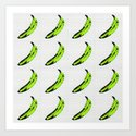 don't buy green bananas Art Print