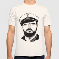 Das boot Mens Fitted Tee Natural SMALL