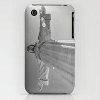 iPhone 3Gs & iPhone 3G Cases featuring Cristo Rei Lisboa by Sébastien BOUVIER