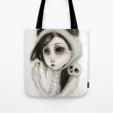The inability to perceive with eyes notebook I Tote Bag