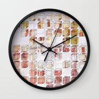 little boxes Wall Clock