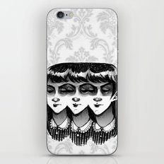 Triplets iPhone & iPod Skin