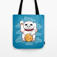 Lucky Dragon Tote Bag