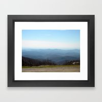 Majestic Mountains Framed Art Print