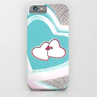 iPhone & iPod Case featuring Heart Illustration by Sobhani