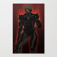 UNPLUG - Red Canvas Print