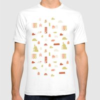 Searching For A House Mens Fitted Tee White SMALL