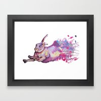 In Which There Is A Rabb… Framed Art Print