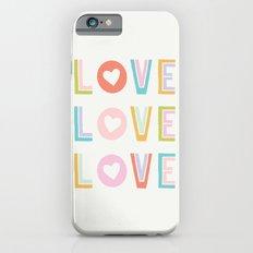 Love x3 Slim Case iPhone 6s