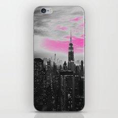 PINK New York iPhone & iPod Skin