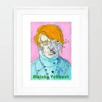Moloko Vellocet Framed Art Print