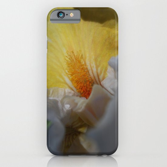 yellow iris iPhone & iPod Case