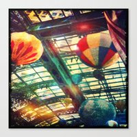 Up Up & Away Canvas Print
