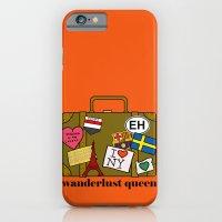 Wanderlust Queen iPhone 6 Slim Case