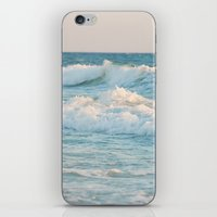 The waves iPhone & iPod Skin