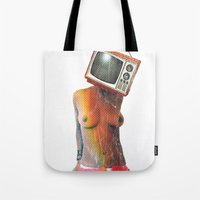 SEX ON TV by ZZGLAM Tote Bag