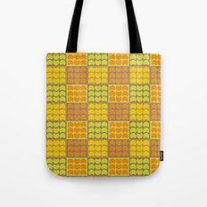 Hob Nob Orange Quarters Tote Bag