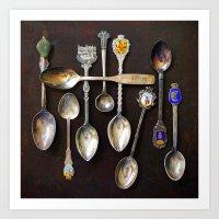 'Spoons' Art Print