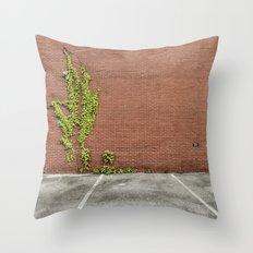 Climbing Vines Throw Pillow