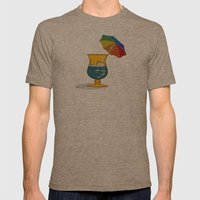 Summertime! Mens Fitted Tee Tri-Coffee SMALL